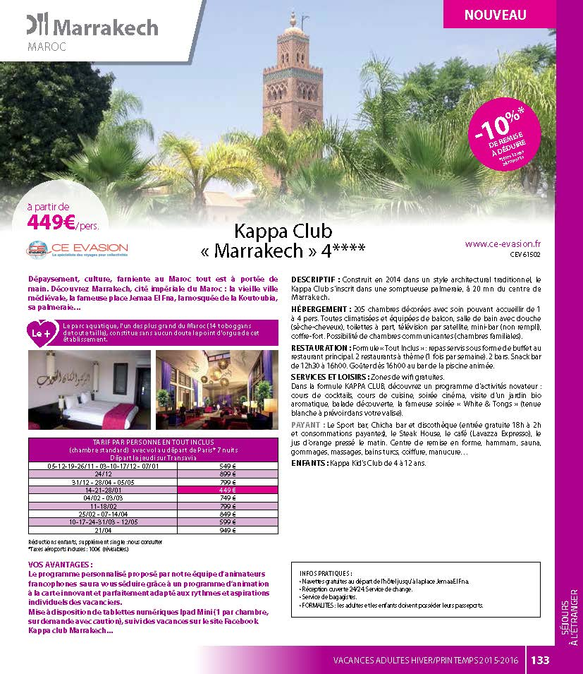 Kappa Club MARRAKECH